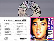 ELVIS PRESLEY - That's All Right CD Import Very RARE