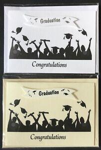 Graduation card with envelope blank inside A6 (landscape)