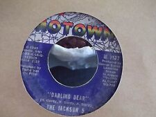 45$ the jackson 5 mama's pearl / darling dear on motown records