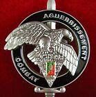 FRENCH FOREIGN LEGION 2e REP COMMANDO AGUERRISSEMENT COMBAT BADGE MEDAL