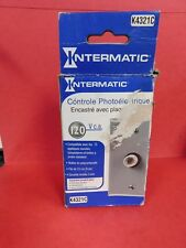 INTERMATIC K4321C 15A 120V PHOTO CONTROL WITH WALL PLATE NEW