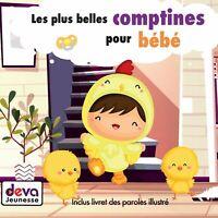 Les plus belles comptines pour bébé ( CD & Livret illustré)