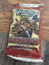 Warlord Saga Of The Storm CCG Epic Edition 1 Battle Pack