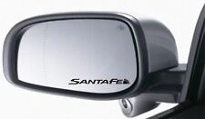 4x Wing Mirror Stickers Fits Hyundai Santa Fe Graphics Premium Quality XA23