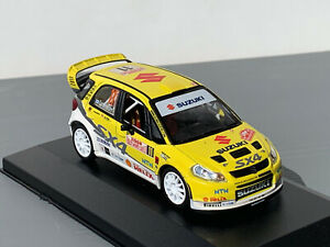RALLY 1/43 IXO TROFEU WRC TEAM SUZUKI SX4 TONI GARDEMEISTER MONTE CARLO 2008 ERC