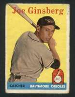 1958 Topps #67 Joe Ginsberg GVG Orioles 71630