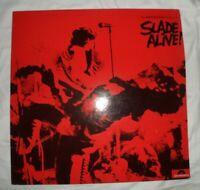 SLADE Slade Alive POLYDOR STEREO FLAT EDGE VINYL 1972 1st Original MIP-1-9472