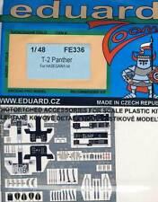 eduard Mitsubishi T-2 Panther Ätzteile Ätzsatz 1:48 für Modell-Bausatz Hasegawa