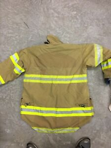 Morning Pride Fire Fighter Turnout jackets Size 40,46,  2004-2007