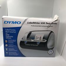Dymo Label Writer 450 Twin Turbo Label Printer 71 Labels Per Minute 1752266