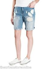 Mossimo Women's Danni Boyfriend Denim Shorts Sunset Blvd 62.5% Off