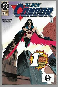 Black Condor #1 DC Comics (06/92) Vol. 1 Justice League Member Death of Superman