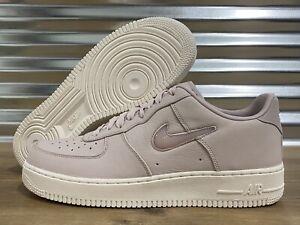 Nike Air Force 1 PRM Jewel Shoes Silt Pink Sail White SZ ( 941912-600 )