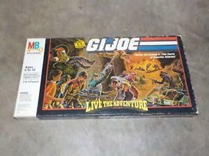 GI Joe Live The Adventure Board Game NEW in Box (Sealed) Hasbro 1986