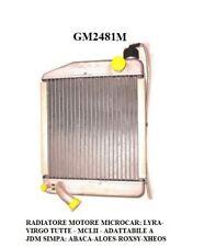 RADIATORE PER MOTORE LOMBARDINI MICROCAR ADATTABILE A JDM SIMPA GM2481M