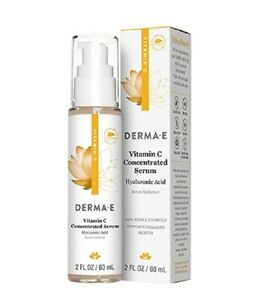 derma e Vitamin C Concentrated Serum with Hyaluronic Acid (2oz.)