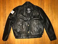 Vintage The Alley Chicago Police Leather Jacket Sz.46