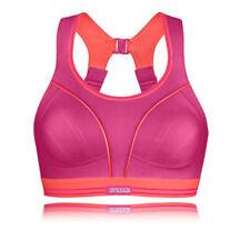 Reggiseni da donna rosi per palestra , fitness , corsa e yoga