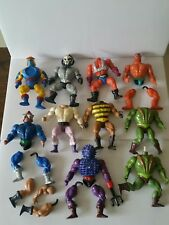 10 Figures MOTU Vintage He Man Masters Of The Universe Lot For Parts