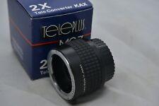 Genuino Original TELEPLUS MC7 PENTAX PKA KAX 2X Tele Lente 7 * elemento D