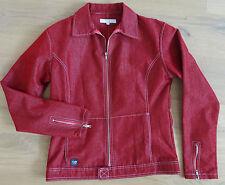 20b2bde28635 IRIEDAILY Jacke Damen Gr L 40 weinrot maroon Jeansjacke dunkel rot NEU