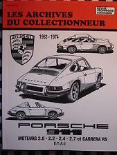 revue technique PORSCHE 911 1963-74  2.0  2.2  2.4  2.7 & CARRERA RS
