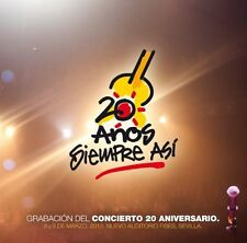 Siempre Así - 20 Anos [New CD]