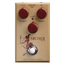 J Rockett Audio Designs Archer Ikon Gold Overdrive Boost Pedal