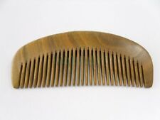 Natural Green Sandalwood Comb Wooden Hair Sandal Wood Palm Comb Healthy