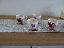 Rose Cup Saucer Candle (Rose Scent)