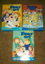 Family Guy DVD Box Set Volume 1 2 3 Season 1 2 &  iTunes Sampler