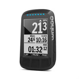 Wahoo Elemnt Bolt Stealth edition - GPS bike computer