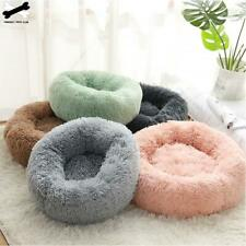 Pet Dog Cat Comfortable Bed Round Nest Warm Soft Washable Plush Sleeping Bed