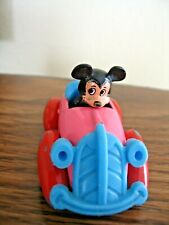New listing Vintage Mickey Mouse in pink, red & blue car Walt Disney Productions No. 55.56