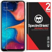 (2-PACK) For Samsung Galaxy A20 Screen Protector Spectre Shield Accessories USA