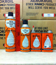 12 Cans Aero Kroil Penetrating Spray Aerokroil Kano 16.5 Oz Can Jesco Sales