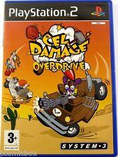 PlayStation 2 CEL DAMAGE OVERDRIVE jeu video de voitures pour console Sony ps2