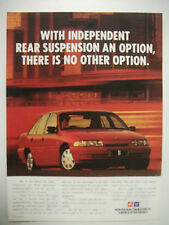 1992 HOLDEN VP COMMODORE S V6 FULLPAGE COLOUR MAGAZINE ADVERTISEMENT