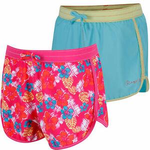 Regatta Girls Frilla Swim Shorts Swimming Beach Surf Swimwear