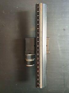 "Arca Swiss Function carrier ""MonoballFix"" + Bench MonoballFix 200mm"