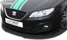 RDX FRONT SPOILER VARIO-X per Seat Exeo