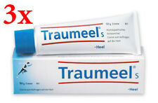 Traumeel S Homeopathic Ointment Anti-Inflammatory Pain Relief - 3 tubes x 50g