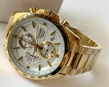 SSB286P1 Chronograph Tachymeter Gold Steel Watch for Men COD PayPal