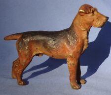 "bronze Airedale Lakeland Welsh Terrier Austria 5"" Dog"