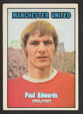 A&BC - Footballers (Orange 170-255) 1970 - # 223 P Edwards - Manchester United