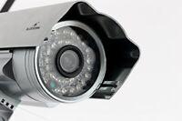 Bluestork High-Definition HD Outdoor IP Camera with Night Vision Plug-Type F (EU