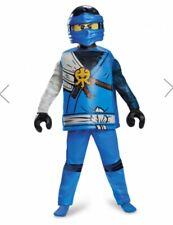 Costume Bambino Lego Ninjago Blu Jay Tg.4-6 Anni