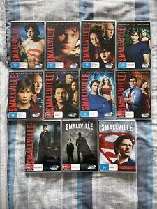 Smallville Complete Series Boxset Dvd Season 1 2 3 4 5 6 7 8 9 10