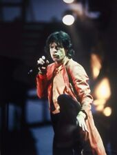 Photo of Mick Jagger The Rolling Stones in concert 10.5 x 8 in by Mel Longhurst
