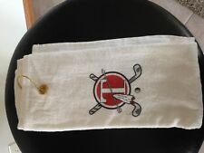"""Arrows (T) Velour Golf Towel by Royal Comfort 16"""" x 25""""  NEW"""
